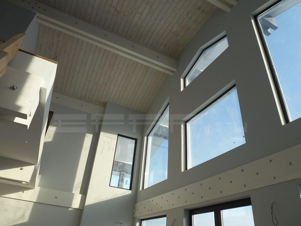 «Дом-Фрегат» с панорамными окнами