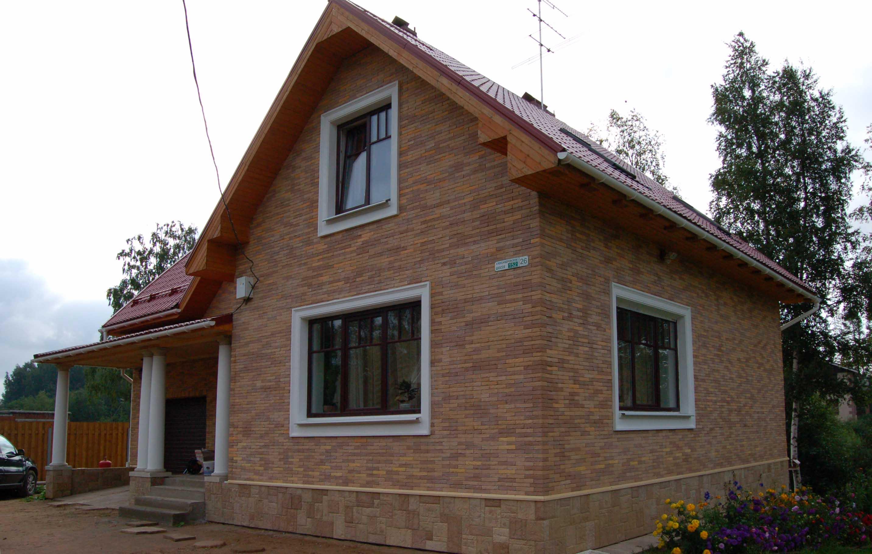 Отделка дома в рустикальном стиле