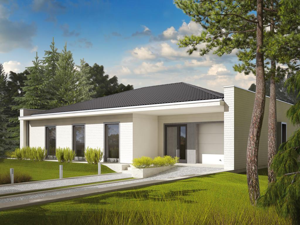 Строительство каркасного дома с панорамными окнами