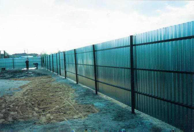 Алюминиевый забор в России