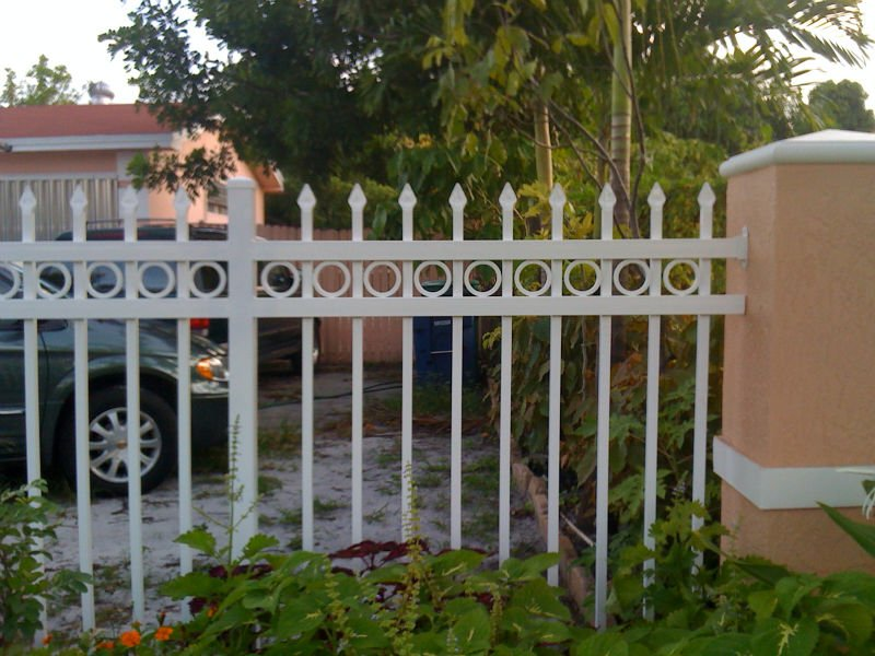Алюминиевый забор. Вдохните стиль