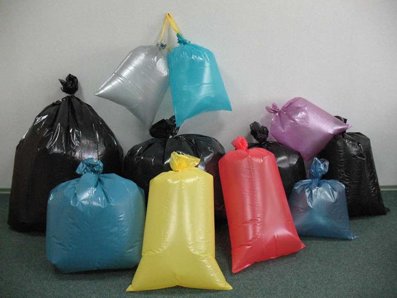 Использование мешков для мусора
