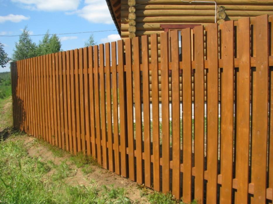 Проверьте забор перед зимой!