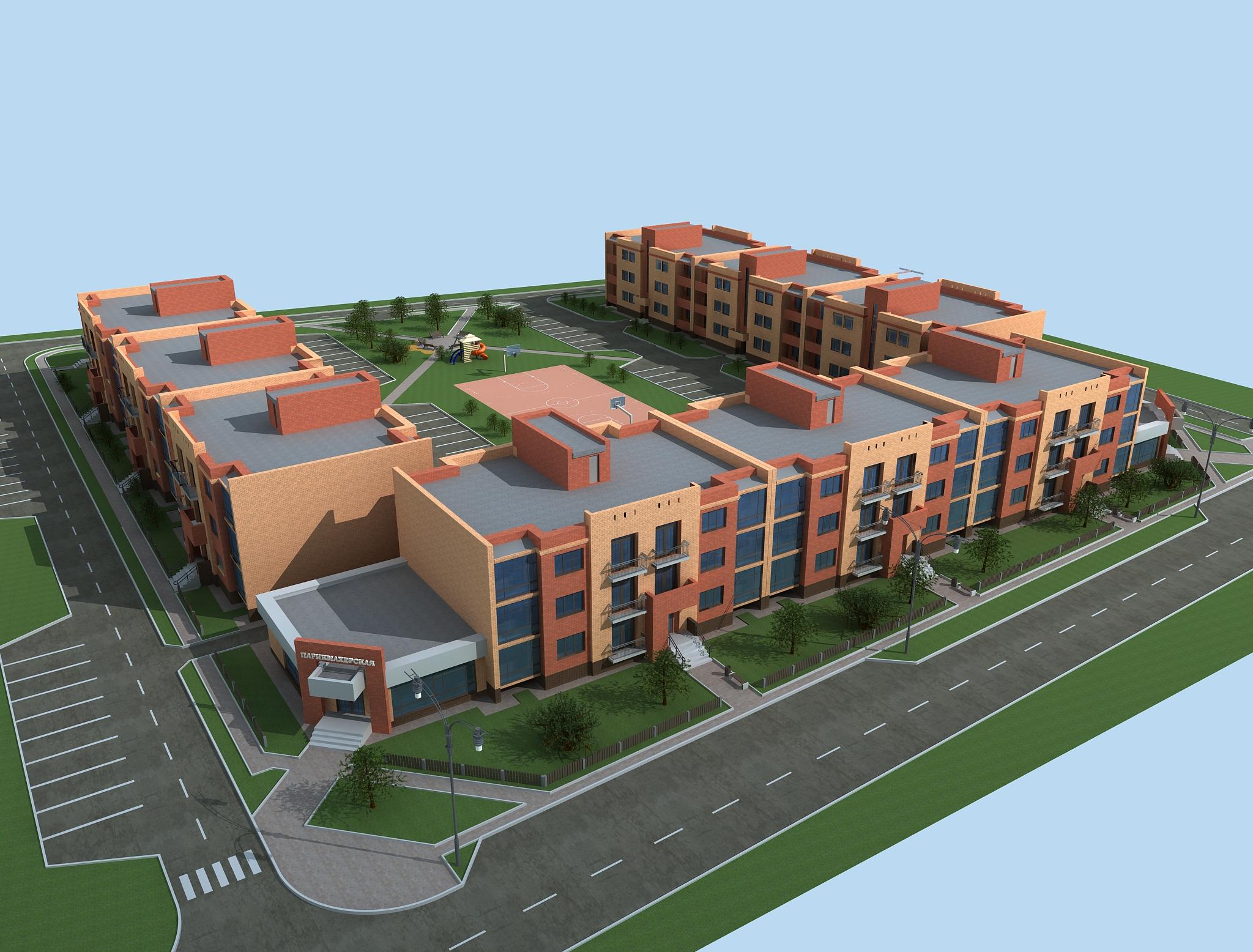 «ПулЭкспресс» построит во Всеволожском районе малоэтажный жилой комплекс
