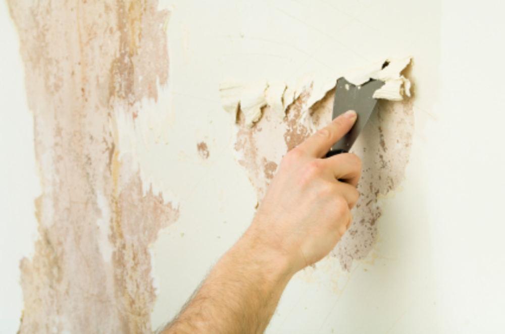 Как легко смыть побелку со стен