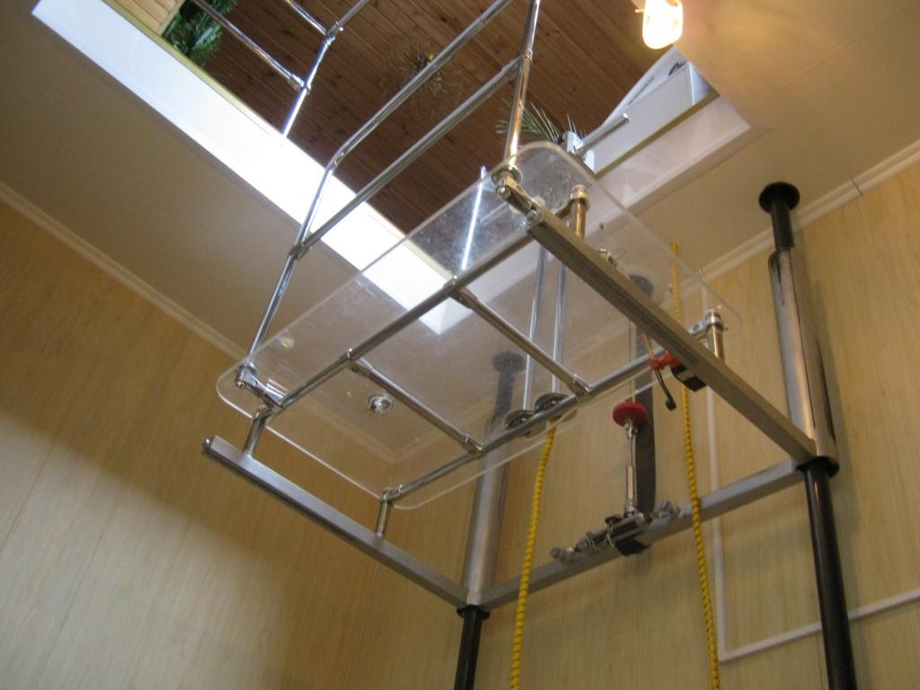 Как сделать лифт для частного дома своими руками