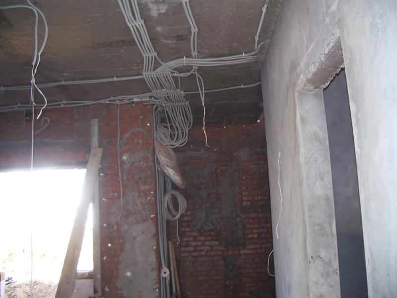замена старой электрической проводки
