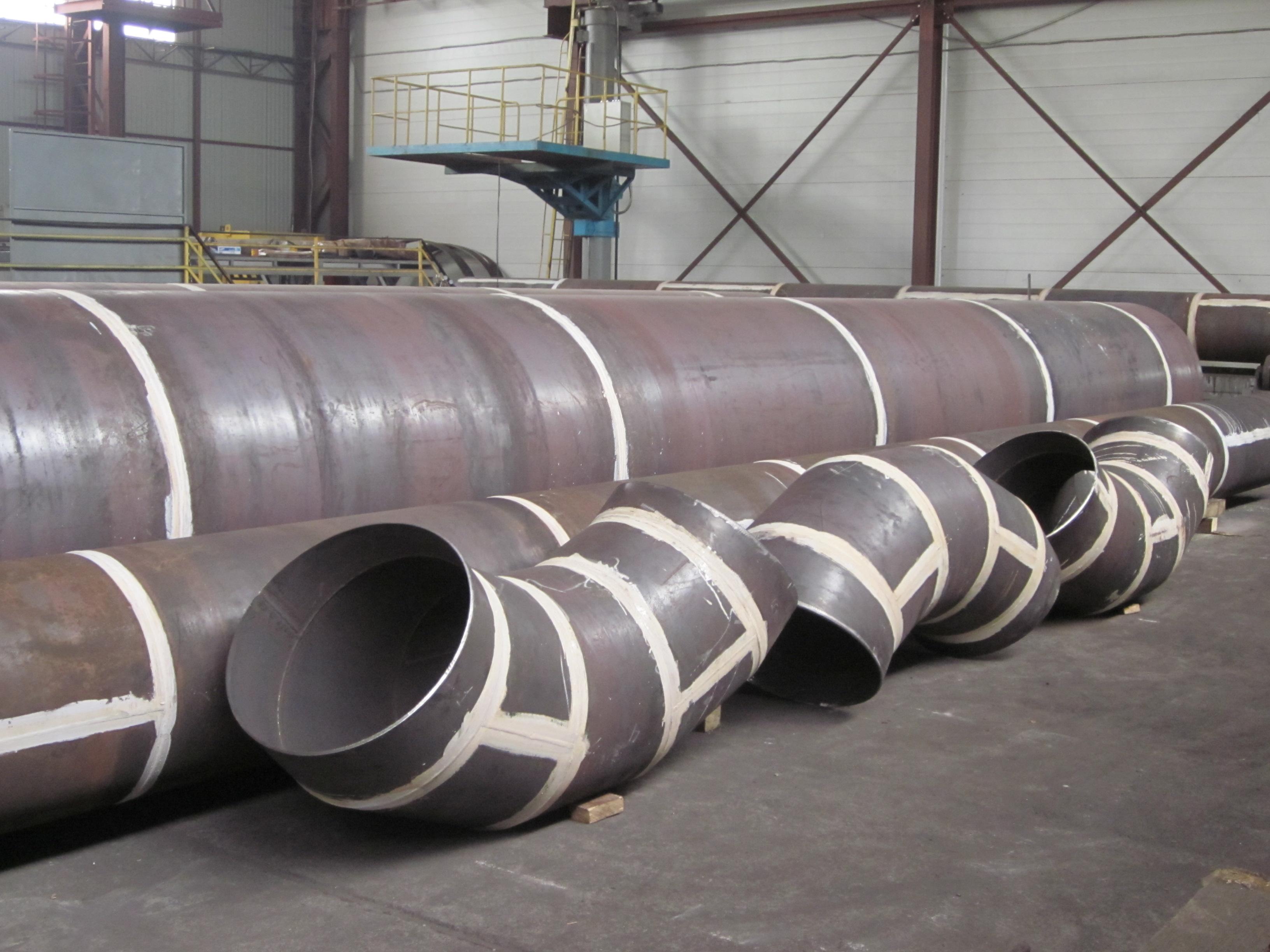 Использование стальных труб