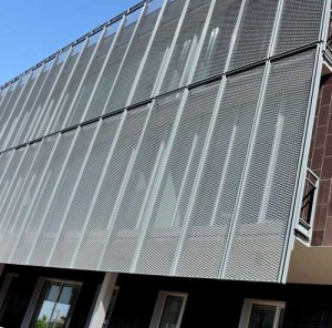 монтаж алюминиевых фасадов