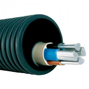 гофрированная труба для прокладки кабеля