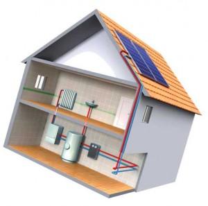 системы отопления двухэтажного дома