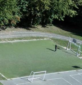 строительство мини футбольного поля