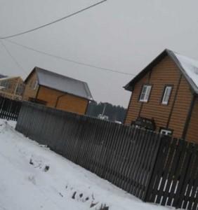 дом с участком в Александрове неподалеку от леса