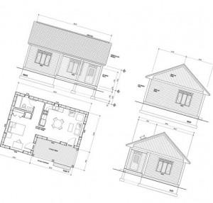 план постройки дома