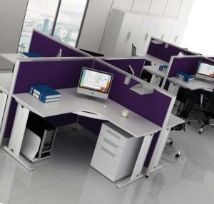 планировка мебели в офисе