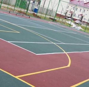 спортивная площадка своими руками
