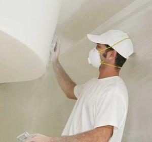 технология ремонта потолка
