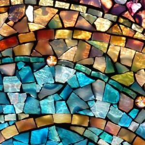 прозрачная затирка для мозаики
