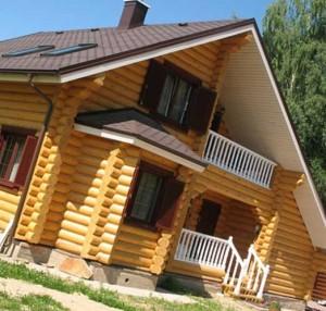 деревянный дом без клея и гвоздей