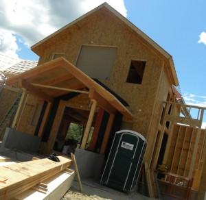 каркасно панельное строительство домов