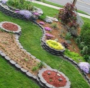 декоративное озеленение участка