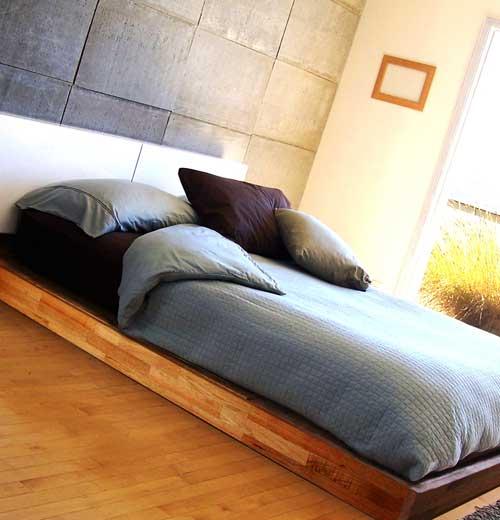 Кровать на полу своими руками фото 49