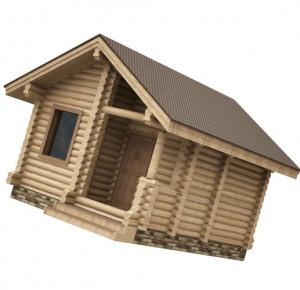 бюджетная баня на даче