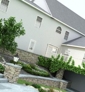 декоративное оформление загородного дома
