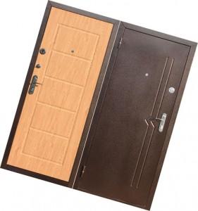 металлическая входная дверь с мдф панелями