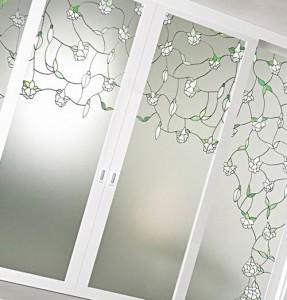 двери с матовым стеклом