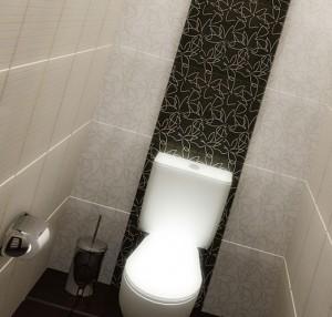 интерьер туалета в квартире