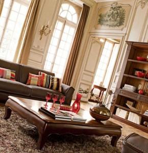 классическое оформление гостиной
