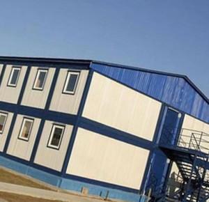 модульное здание из блок контейнеров