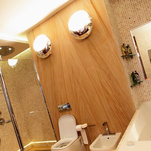 Как сделать свет в ванной?