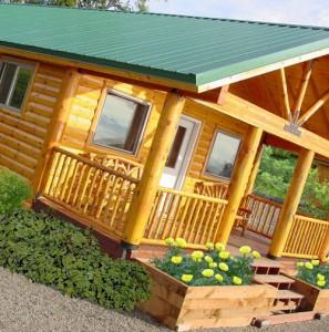 строительство деревянного дома эконом класса