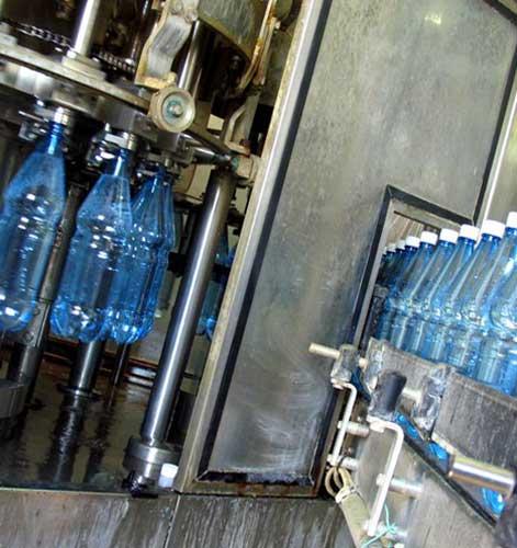 Производство по добыче минеральной воды