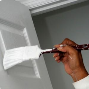 как правильно покрасить двери