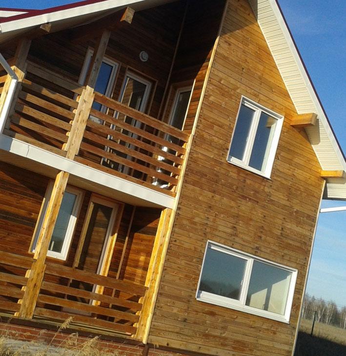 Канадская технология строительства деревянных домов