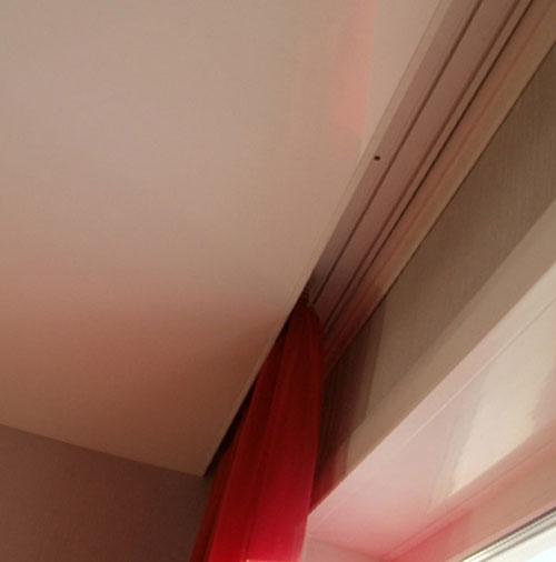 Карниз для штор под натяжной потолок
