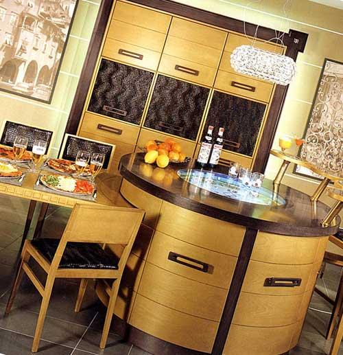 Модные тенденции кухонной мебели.
