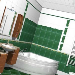 идеи ремонта для ванных комнат
