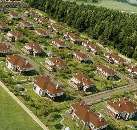 Выбор коттеджного поселка