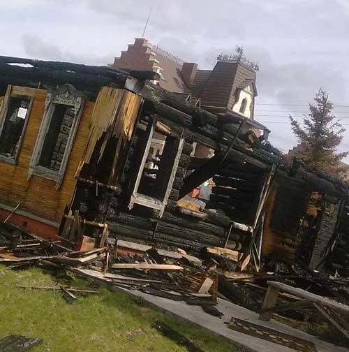 Стоимость демонтажа деревянного дома
