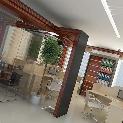 Варианты дизайна офиса