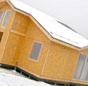 дом из OSB панелей