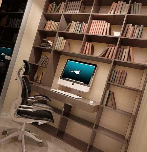 Маленький кабинет в квартире