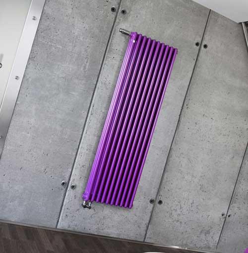 Настенные вертикальные радиаторы отопления