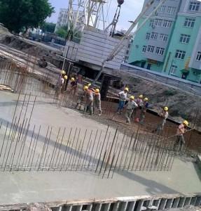 бетонирование с противоморозными добавками