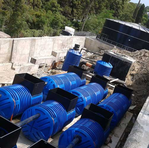 Система отвода сточных вод