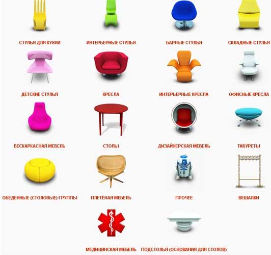 Все Стулья.Ру — лучшие стулья по привлекательным ценам